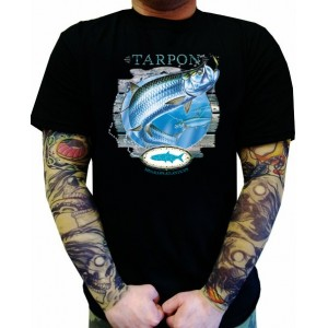 Koszulka dla wędkarzy Tarpon Salt Water