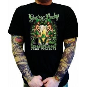Koszulka kufel piwa Get 'N Lucky Dublin