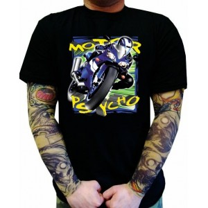 Koszulka motocyklowa Motor Psycho