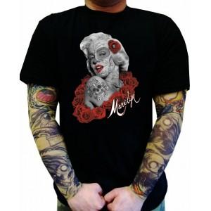 Koszulka Marilyn Monroe De Los Muertos