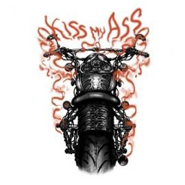 Koszulka motocyklowa Kiss My Ass