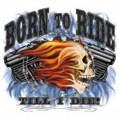 Koszulka motocyklowa Born To Ride