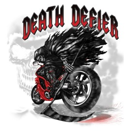 Koszulka motocyklowa Death Defier