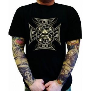 Koszulka motocyklowa Skulls Biker