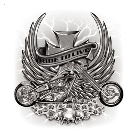 Koszulka motocyklowa Ride To Live