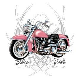 Koszulka motocyklowa City Girl