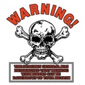 Koszulka motocyklowa Warning