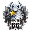 Koszulka motocyklowa Route 66 Eagle