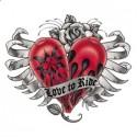 Koszulka motocyklowa Love to Ride