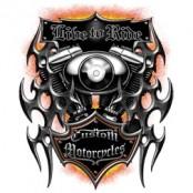 Koszulka motocyklowa Custom Motorcycle