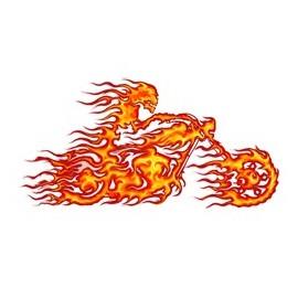 Koszulka motocyklowa Fire Biker