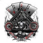 Koszulka motocyklowa Spades Biker