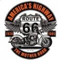 Koszulka motocyklowa Route 66 Highway