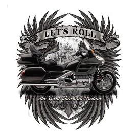 Koszulka motocyklowa Let's Roll Wings
