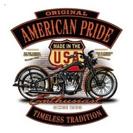 Koszulka motocyklowa American Pride II