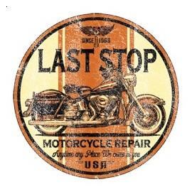 Koszulka motocyklowa Last Stop Motorcycle