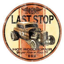 Koszulka motocyklowa Last Stop Hot Rod