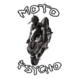 Koszulka motocyklowa Moto Psycho Biker