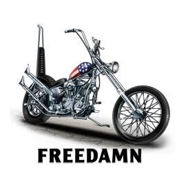Koszulka motocyklowa Freedamn Biker