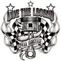 Koszulka motocyklowa Live The Legend