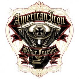 Koszulka motocyklowa American Steel