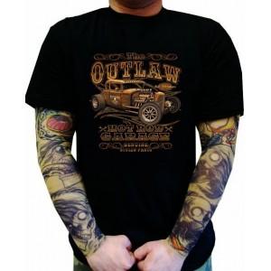 Koszulka samochodowa The Outlaw Hot Rod