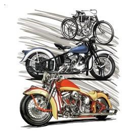 Koszulka motocyklowa Motorcycle Of History