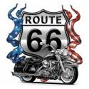 Koszulka motocyklowa Route 66 Bikes