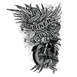 Koszulka motocyklowa Biker Til I Die