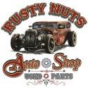 Koszulka Rusty Nuts Auto Shop