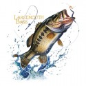 Koszulka dla wędkarzy Largemouth Bass Fresh Water