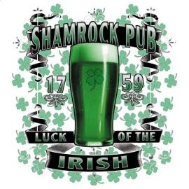 Koszulka kufel piwa Shamrock Pub Beer