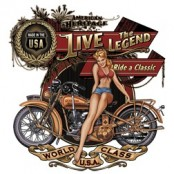 Koszulka motocyklowa Classic Iron Rumblers Route 66