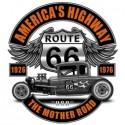 Koszulka America's Highway Route 66