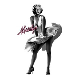 Koszulka Marilyn Monroe With Pink Text