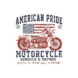 Koszulka motocyklowa American Pride Motorcycle Servis & Repair