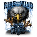 Koszulka motocyklowa Ride Like The Wind